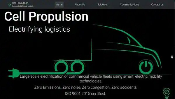 Electric mobility startup Cell Propulsion raises $2 million